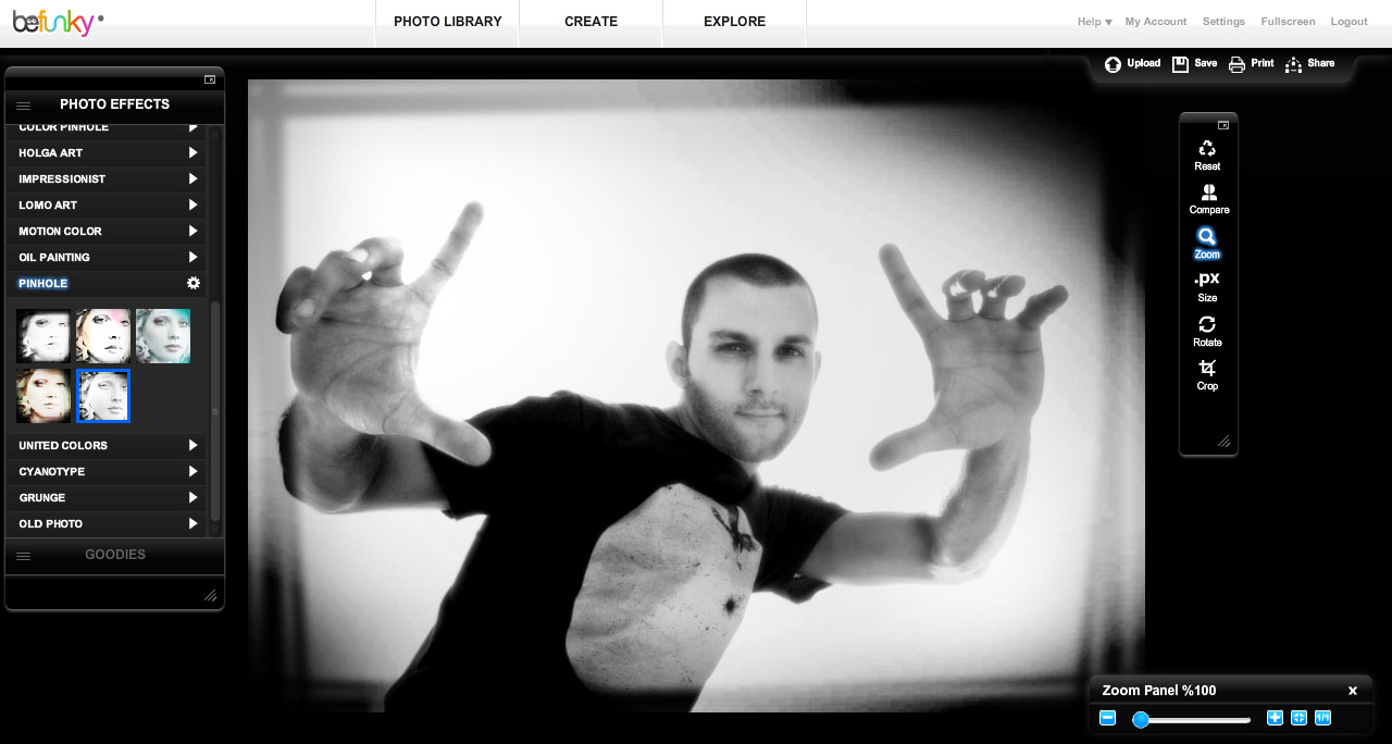 Grunge Camera Effect : Faux holga create toy camera lomo effect with any image mark galer