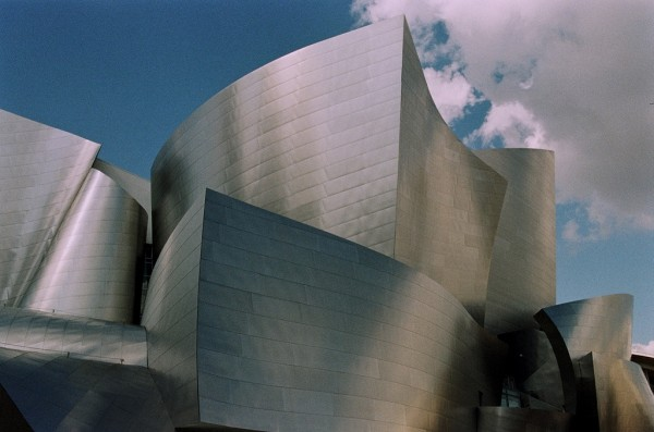 Walt Disney Concert Hall in Los Angeles