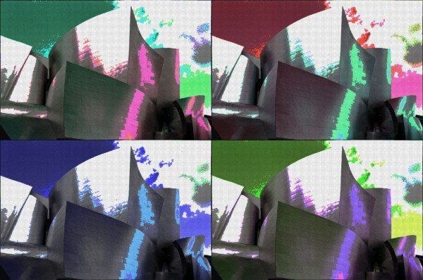 Walt Disney Concert Hall with BeFunky Pop Art Effect
