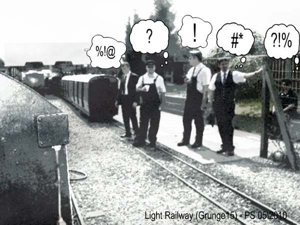 Railway -Speech Balloons