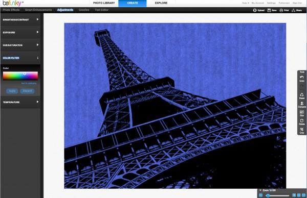 BeFunky Screenshot - Color Filter